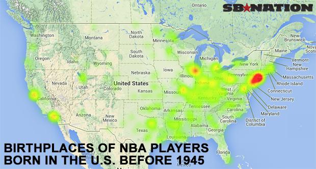 20 maps that explain the NBA - SBNation.com