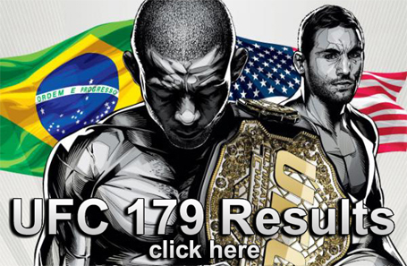 UFC 179 Results