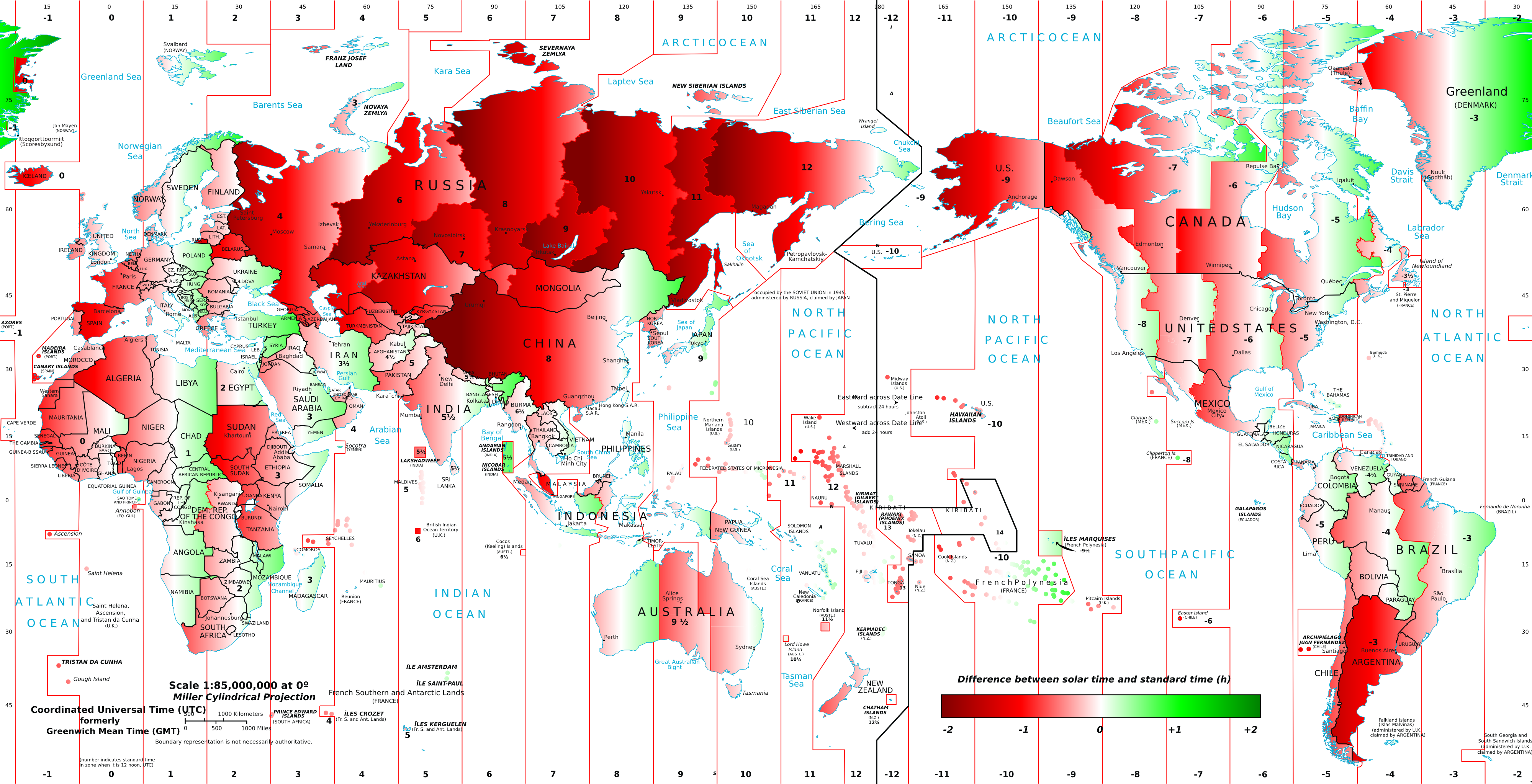 Time Zone Line Map Topographic Map OnTimeZonecom Downloads - Us map red png