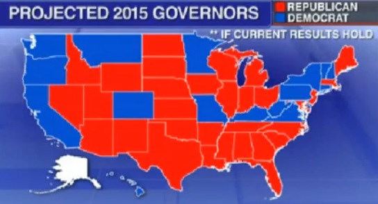At The Start Of 2015 There Are Projected To Be 31 Republican Governors And 18 Democratic Governors To Go With A Conservative Leaning Independent Governor