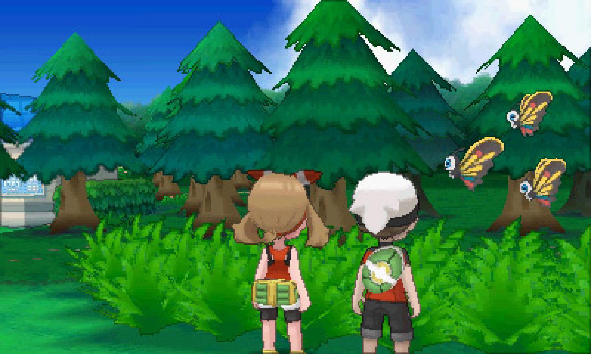 Pokemon omega ruby trading system