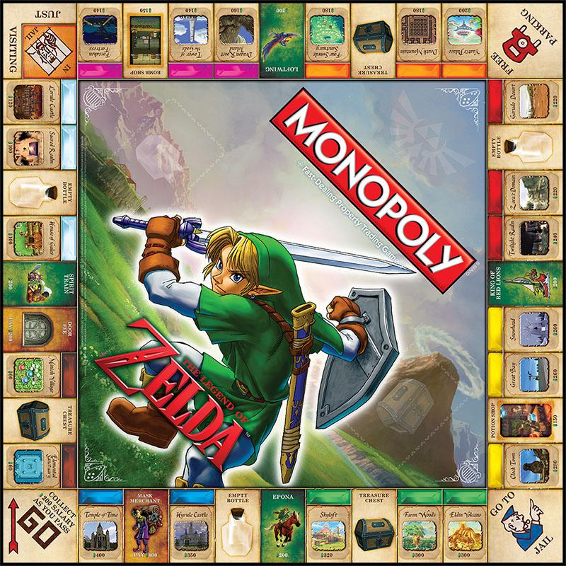 Legend of Zelda-themed Monopoly arrives Sept. 15 - Polygon