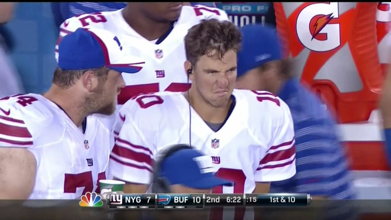 This is the first Eli Manning face of 2014 SBNation