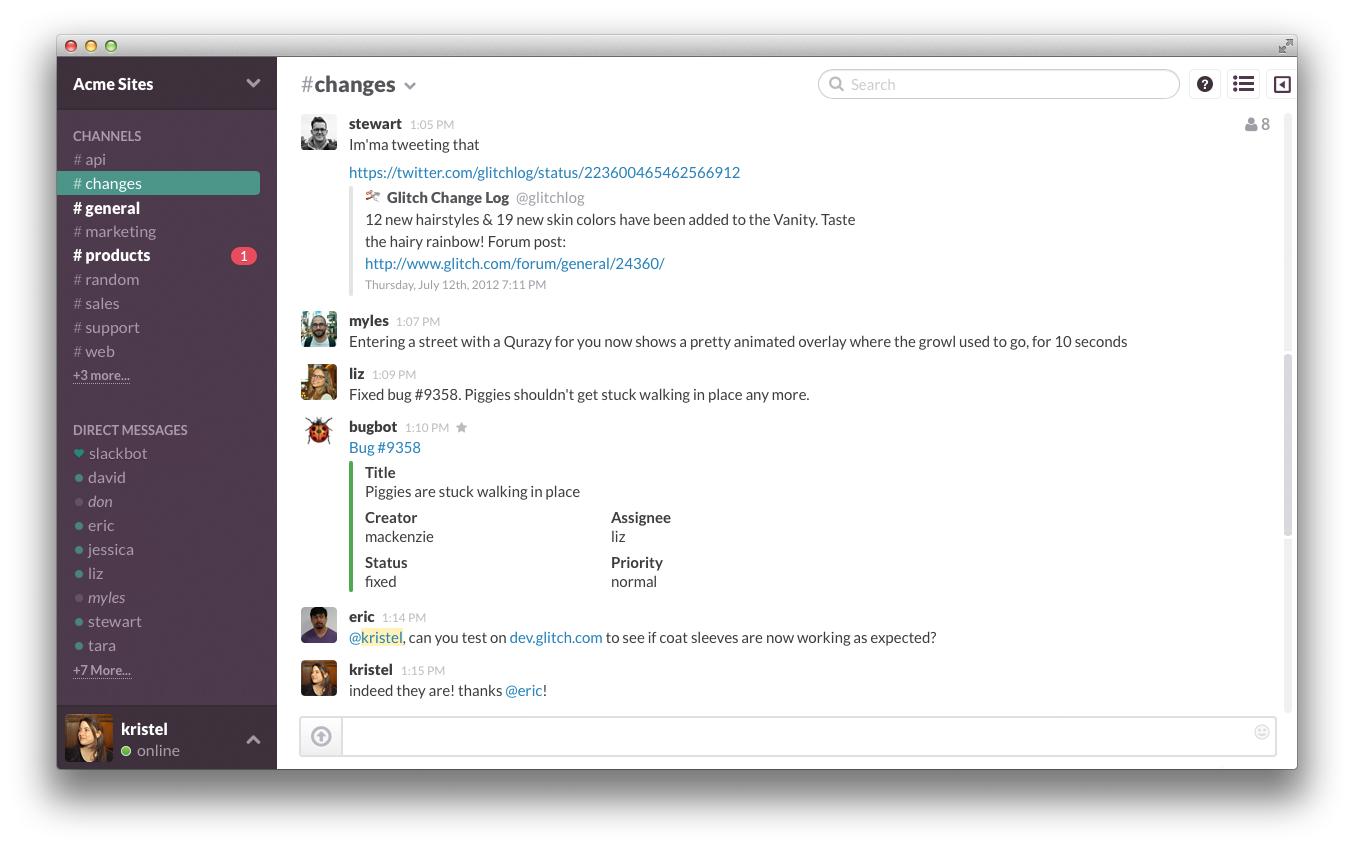 Utiliser slack pour diminuer ses emails ?
