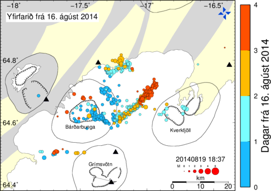 earthquake swarm iceland