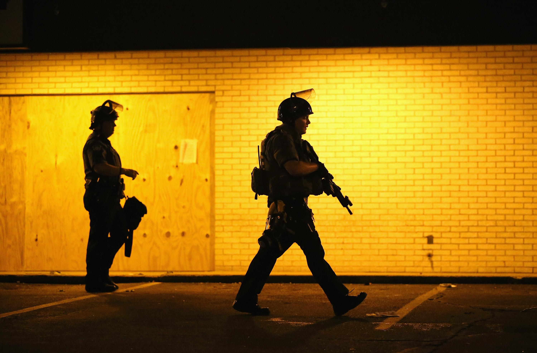 police officers Ferguson
