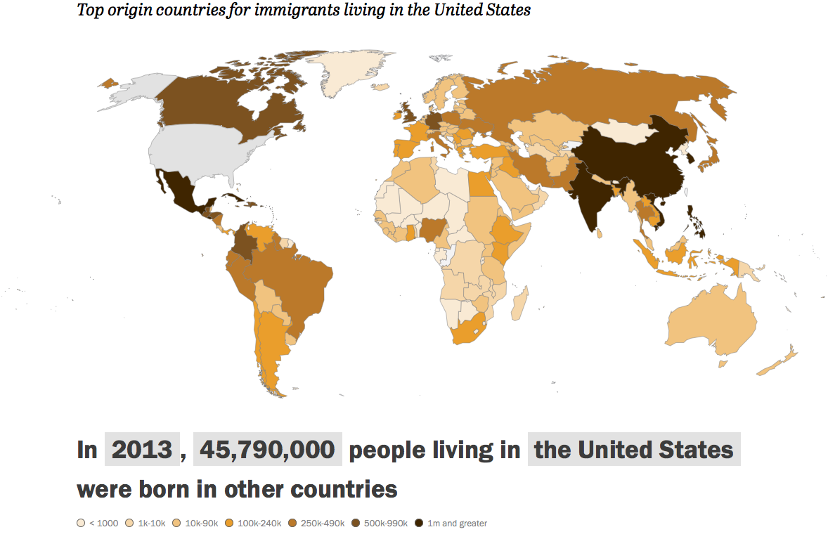 us immigration map