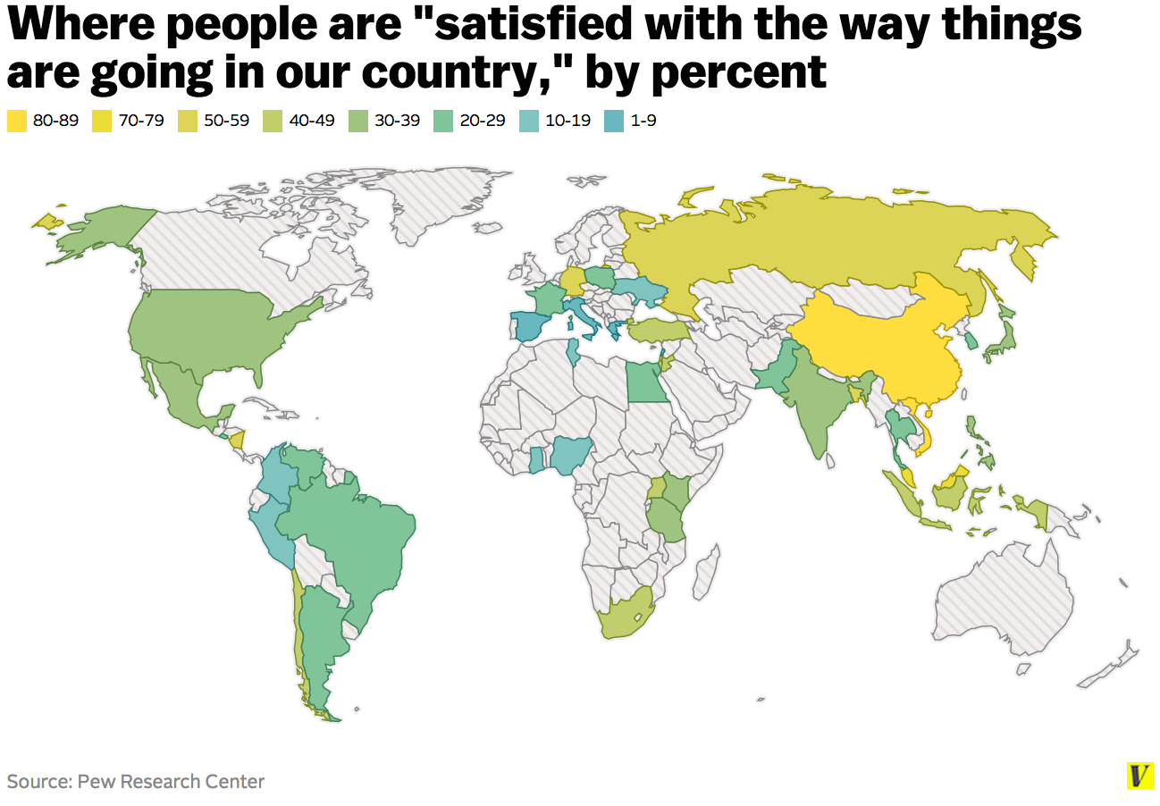 map satisfaction global country direction