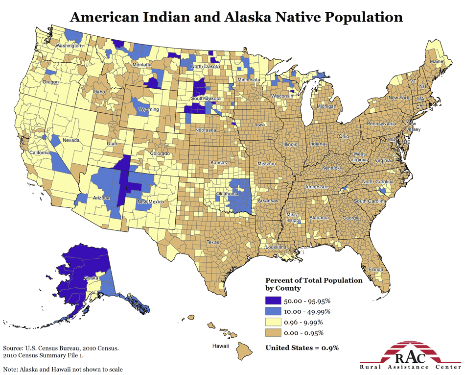 Maps That Explain America Vox - Usa map with hawaii and alaska