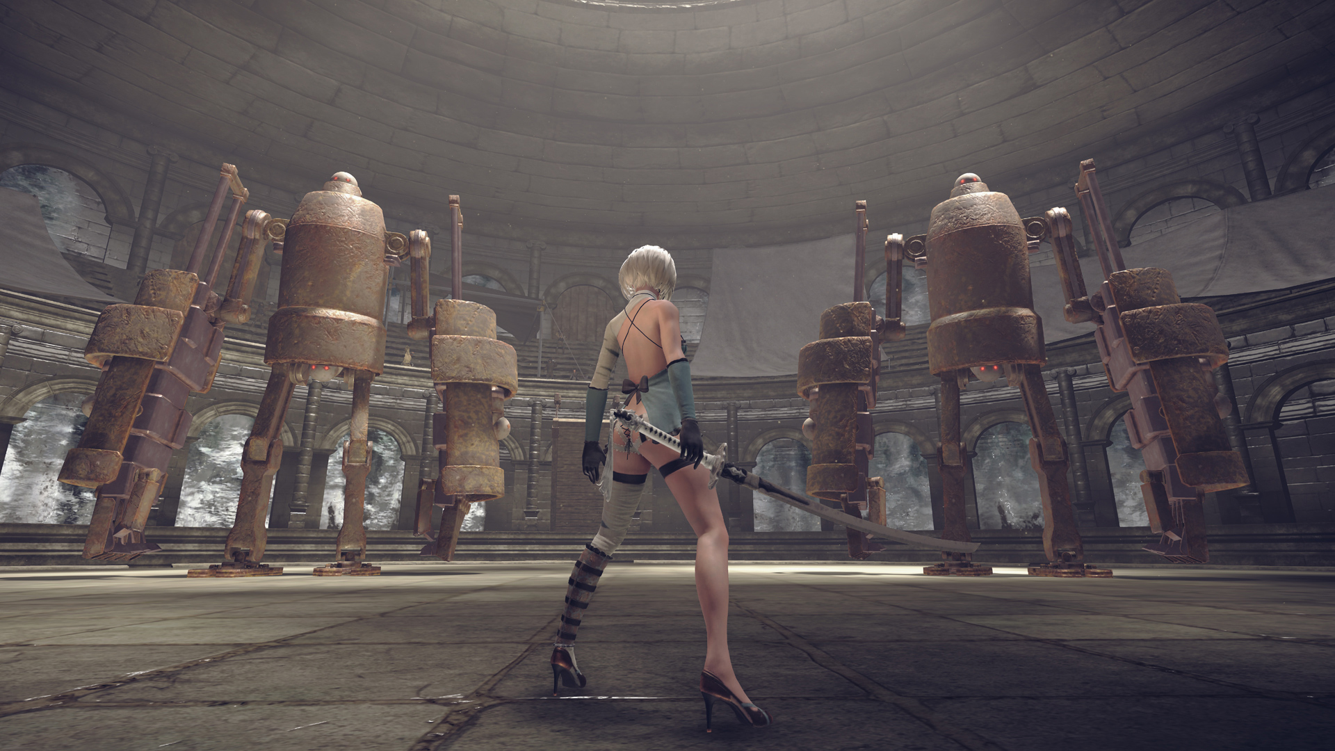 Nier: Automata DLC lets players dress like original Nier ...