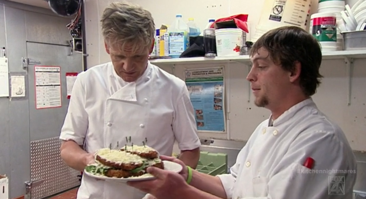 Kitchen Nightmares Recap: At Mangia Mangia, They Microwave ...