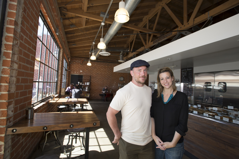 Karen and Quinn Hatfield of The Sycamore Kitchen - Eater LA