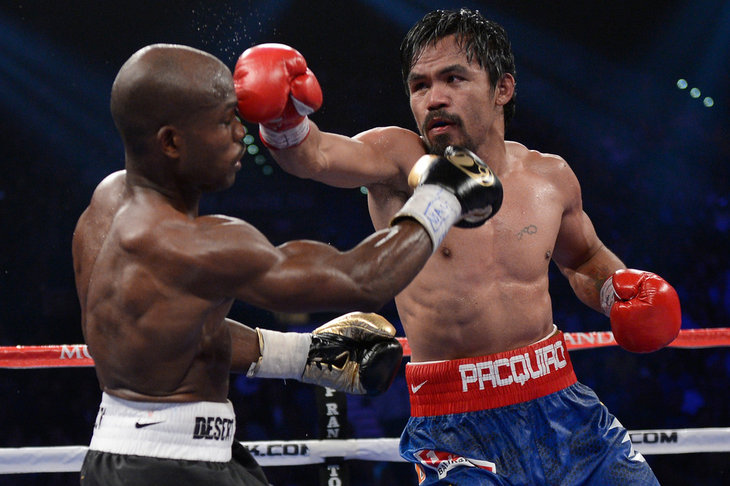 manny pacquiao vs timothy bradley rematch set for april 12 pacquiao    Manny Pacquiao Vs Timothy Bradley April 12