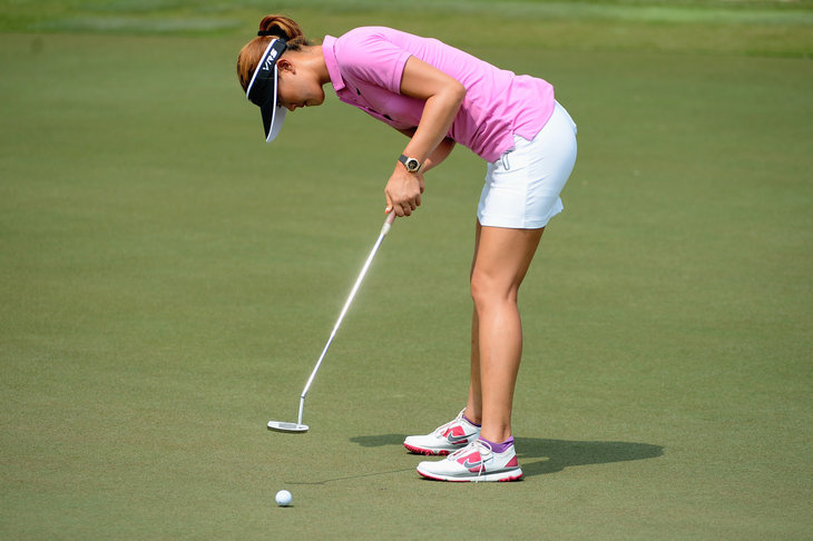 Michelle Wie Putting Michelle wie may have an