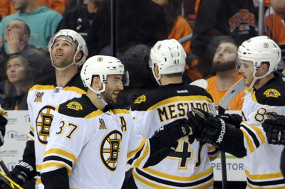 Patrice Bergeron 2nd star of the week