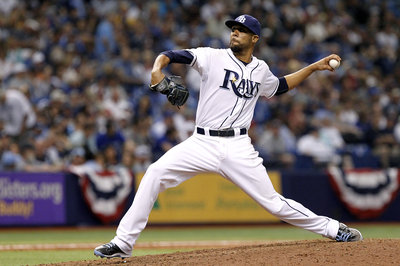 Rays vs. Jays, game 1: Price ace-like, Dickey not