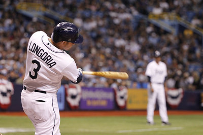 Evan Longoria ties franchise record for home runs