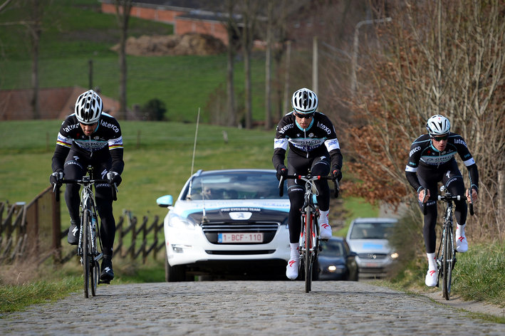 Photo: A few snapshots from the Koppenberg today...
