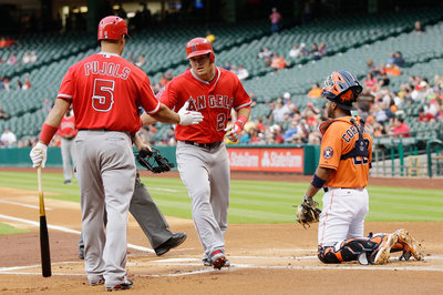 Angels First Win is a Blowout in Houston