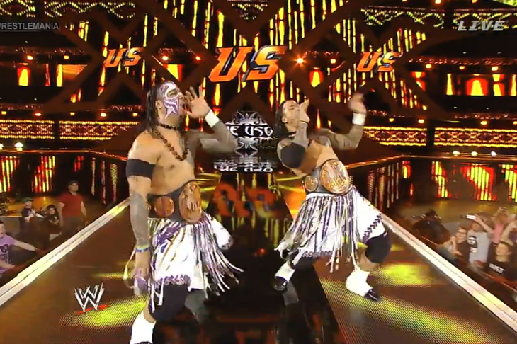The usos are still tag team champions after a very fun opening