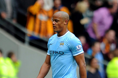 Vincent Kompany In Injury Scare