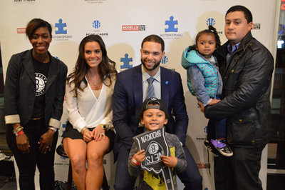 Deron Williams' gift to autism families: a night at Barclays