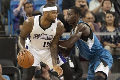DeMarcus Cousins and Kings come alive in the second half to beat the Timberwolves 106 to 103