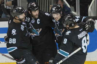 Who was the Sharks' most valuable player this season?