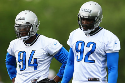 Lions notes: Defensive ends, Matthew Stafford, more