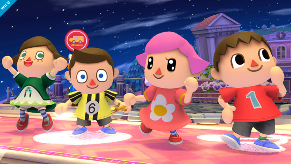 Female Animal Crossing Villager is Playable in Next Smash Bros.
