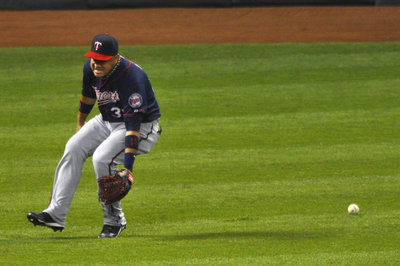 The Twins have the worst defensive outfield in baseball