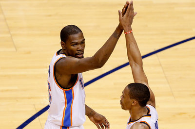 Kevin Durant and Russell Westbrook win ESPY awards