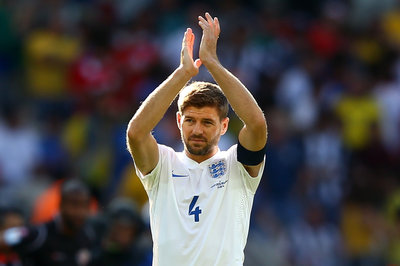 Gerrard Says Goodbye to England