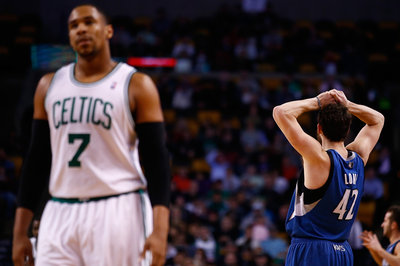 Deveney: Celtics could act as third team in a Kevin Love trade