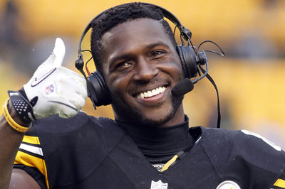 Antonio Brown is Pittsburgh's leader of tomorrow