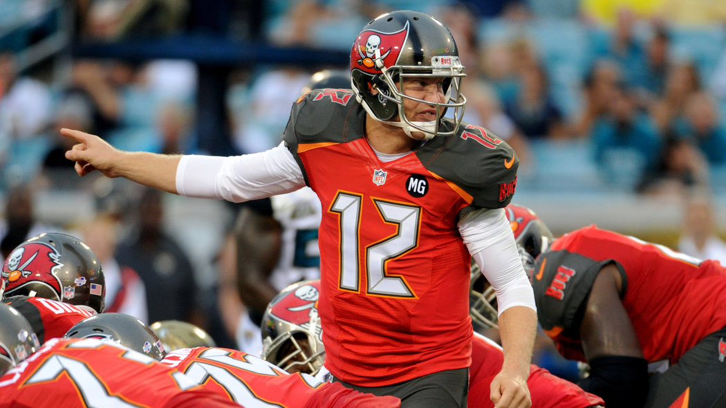 Jerseys NFL Cheap - Photos: Buccaneers new uniforms look shiny under the lights ...