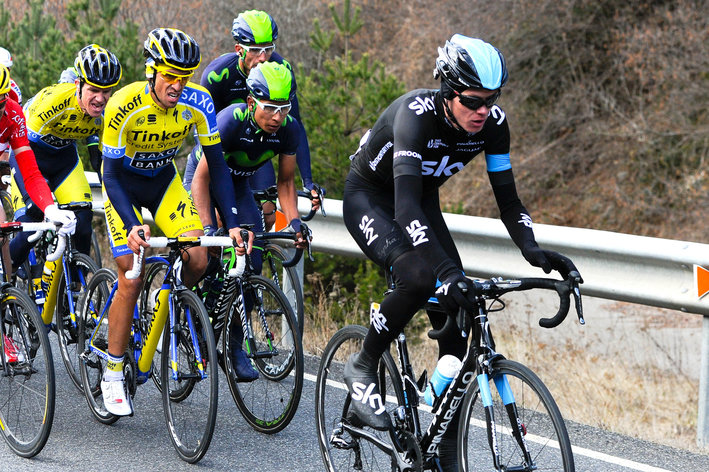 Photo: Contador and Froome have taken the traditional response to dropping out of the Tour -- refocusing their skills and efforts on the Vuelta a Espa�a.
