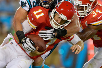 Chiefs-Panthers final score: Aaron Murray to Travis Kelce highlights KC's 28-16 loss