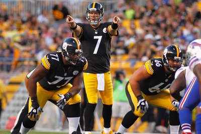 Roethlisberger expecting to play a half against the Eagles