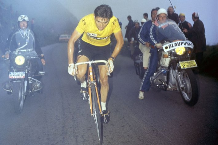 Photo: The English translation of Carlos Arribas's 2013 biographical novel based on the life of Luis Oca�a, winner of the 1973 Tour de France and the moral victor of the 1971 edition.