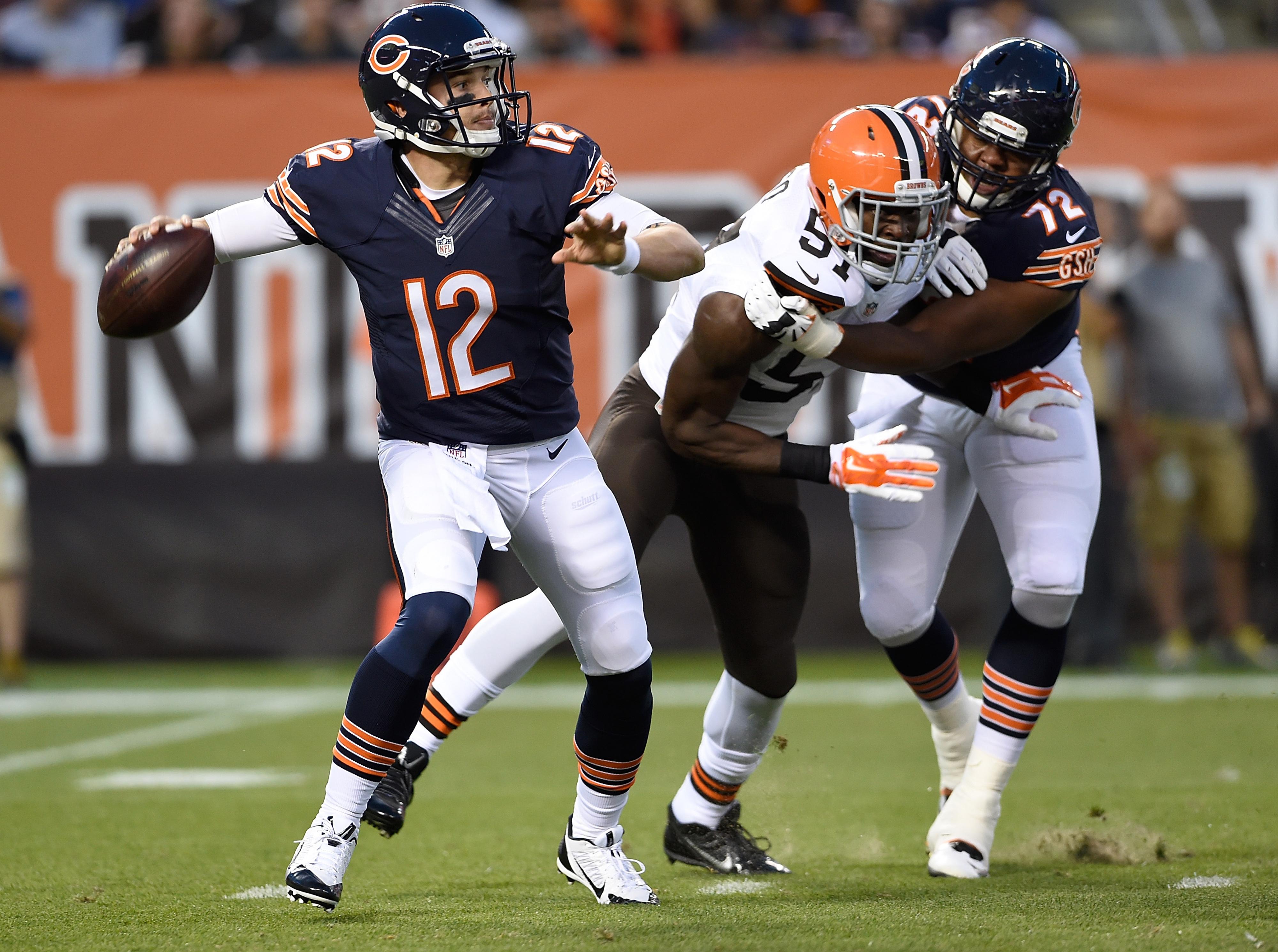 nfl Chicago Bears David Fales GAME Jerseys
