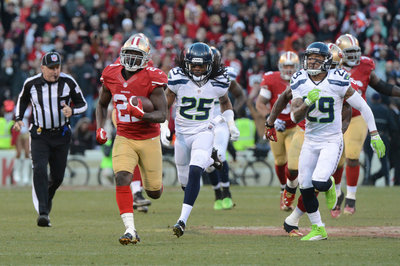 Frank Gore gets crack at surpassing 10,000 career rushing yards on Sunday