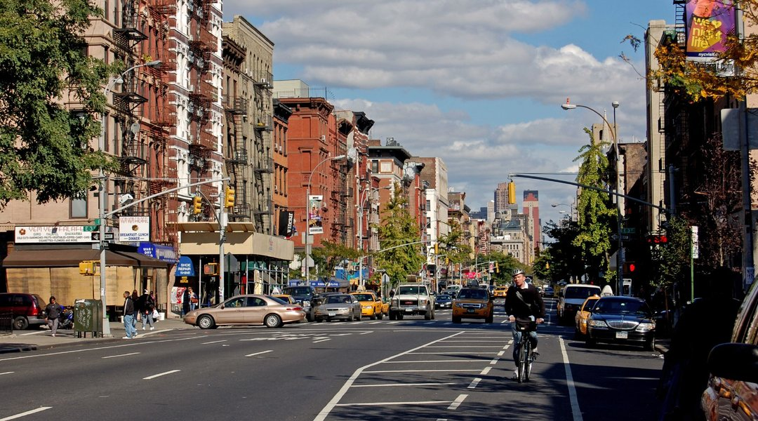 Bike lanes have actually sped up car traffic in New York City