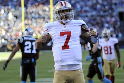 Jim Harbaugh makes Colin Kaepernick-Superman comparison, Panthers send out lame tweet