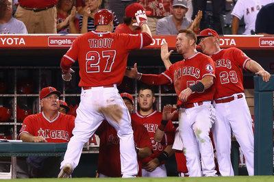 Angels Slaughter Astros At Homecoming Parade