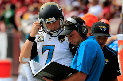 Jaguars will start Chad Henne against the Colts