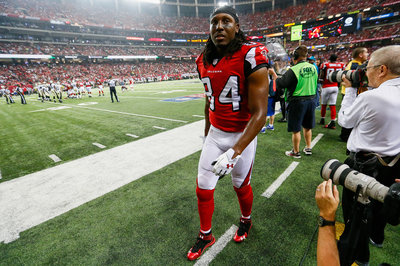 Roddy White Injury: Receiver Not Practicing Tuesday With Hamstring Ailment