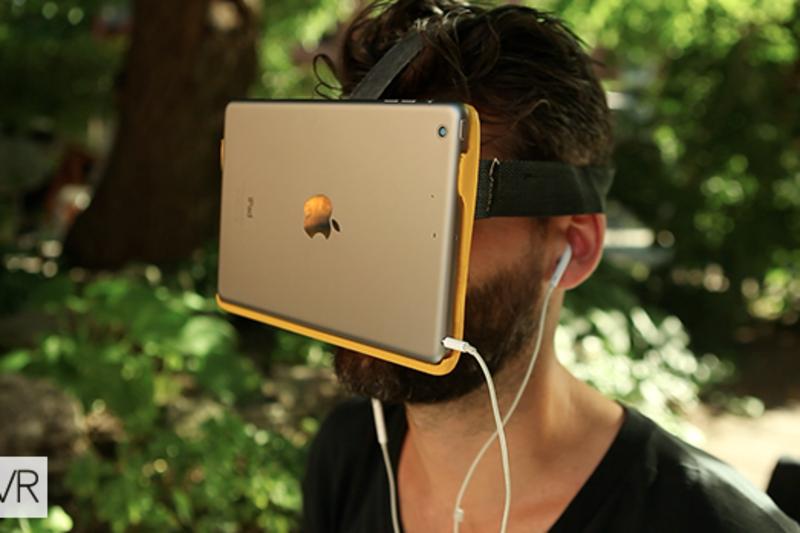 AirVR - Headset pro virtuální realitu s iPadem! (Video)