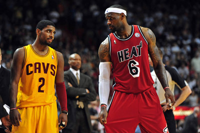 LeBron James: 'I believe Kyrie can be the best point guard'
