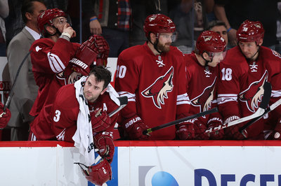 Saturday's Coyotes Tracks - get a Yandle on it